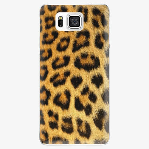Plastový kryt iSaprio - Jaguar Skin - Samsung Galaxy Alpha