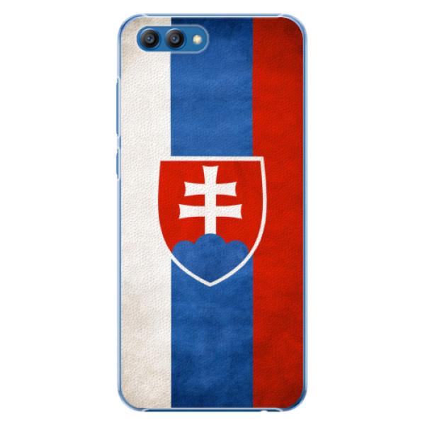 Plastové pouzdro iSaprio - Slovakia Flag - Huawei Honor View 10