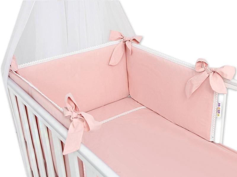 baby-nellys-luxusni-3-dilna-sada-mantinel-s-povlecenim-royal-baby-pudrova-120x90
