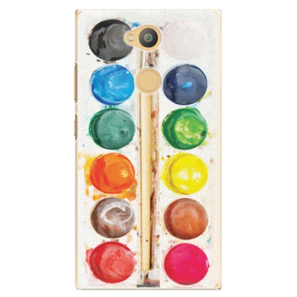 Plastové pouzdro iSaprio - Watercolors - Sony Xperia L2