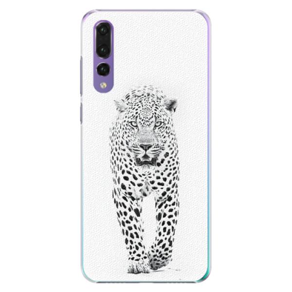 Plastové pouzdro iSaprio - White Jaguar - Huawei P20 Pro