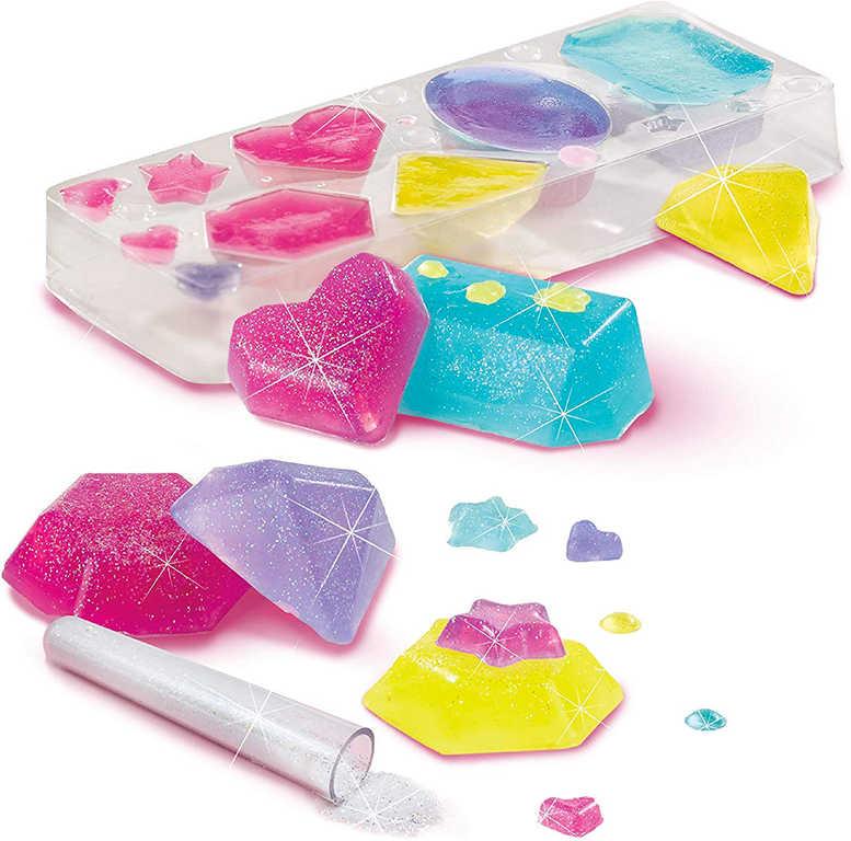 SES CREATIVE Výroba koupelových solí kosmetická laboratoř v plechové krabičce