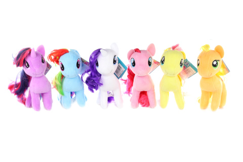 My Little Ponny 16cm plyšový poník