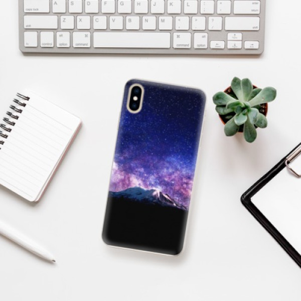 Silikonové pouzdro iSaprio - Milky Way - iPhone XS Max