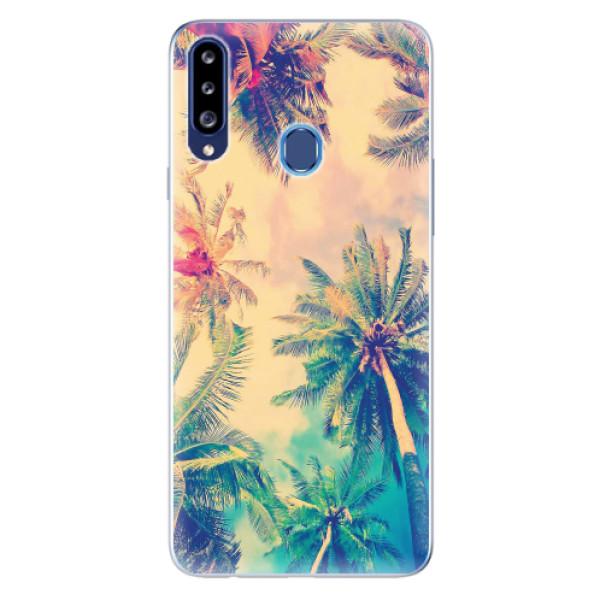 Odolné silikonové pouzdro iSaprio - Palm Beach - Samsung Galaxy A20s