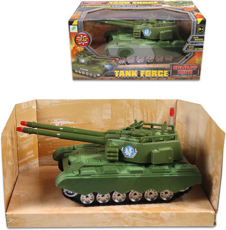 Tank plastový na baterie v krabici