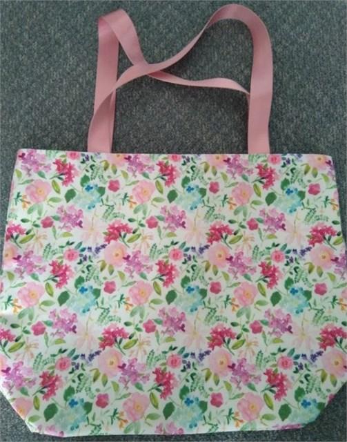 Plátěná taška - Hortenzie