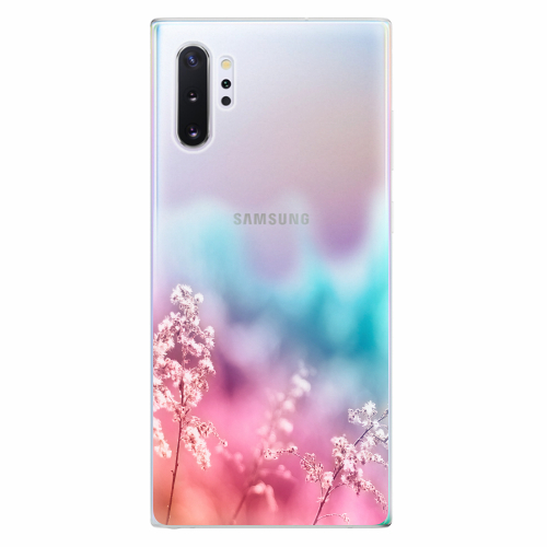 Silikonové pouzdro iSaprio - Rainbow Grass - Samsung Galaxy Note 10+