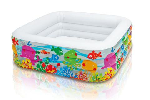 INTEX bazén Akvarium čtverec 57471