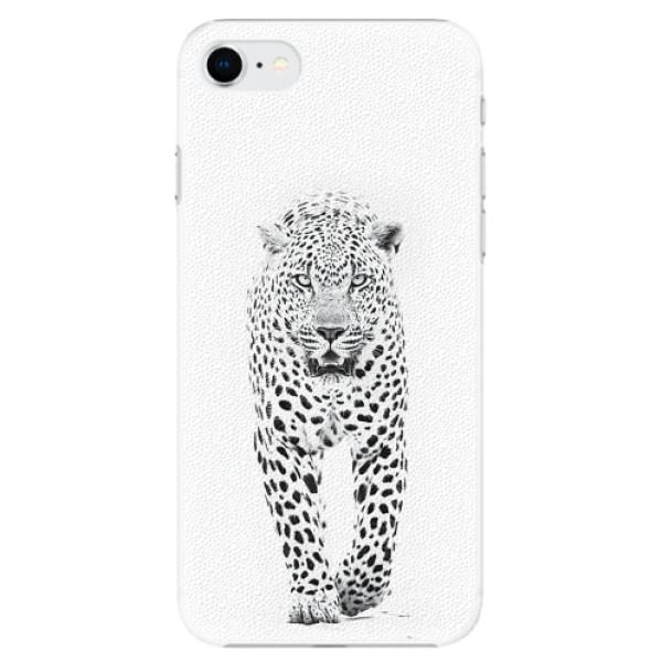 Plastové pouzdro iSaprio - White Jaguar - iPhone SE 2020