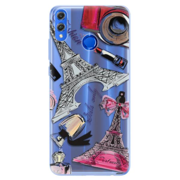 Silikonové pouzdro iSaprio - Fashion pattern 02 - Huawei Honor 8X