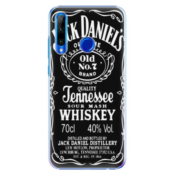 Plastové pouzdro iSaprio - Jack Daniels - Huawei Honor 20 Lite