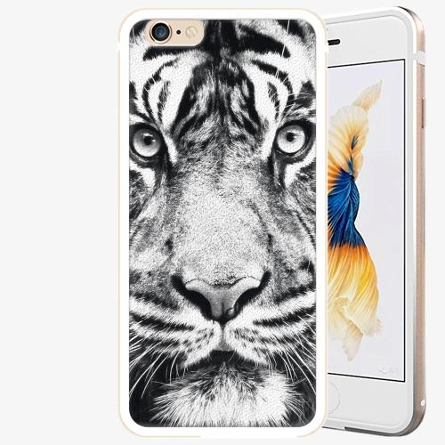Plastový kryt iSaprio - Tiger Face - iPhone 6 Plus/6S Plus - Gold