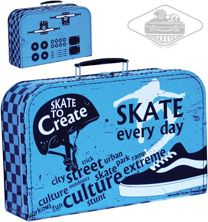 KAZETO kufr SKATE velký dětský kufřík 35x22cm