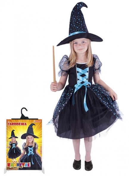 Rappa Karnevalový kostým čarodějnice/halloween magická, vel. M
