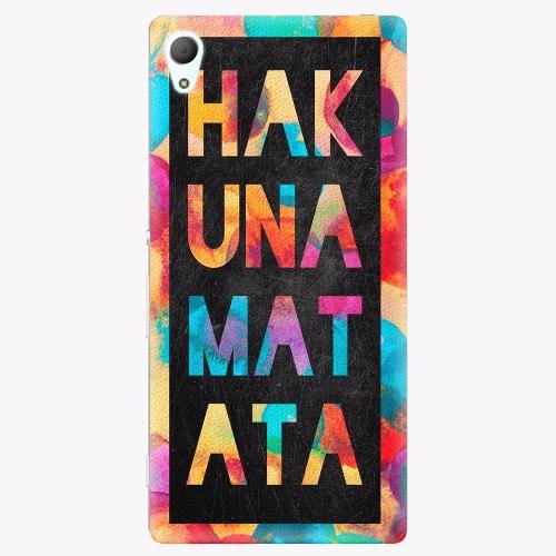 Plastový kryt iSaprio - Hakuna Matata 01 - Sony Xperia Z3+ / Z4