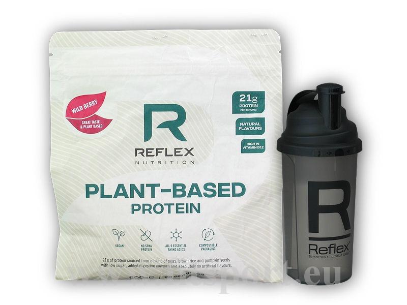 Plant Based Protein 600g + šejkr
