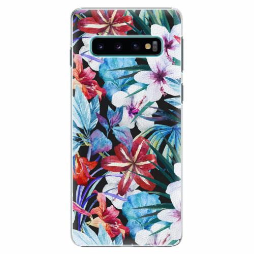 Plastový kryt iSaprio - Tropical Flowers 05 - Samsung Galaxy S10
