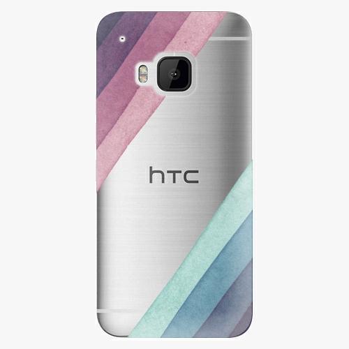 Plastový kryt iSaprio - Glitter Stripes 01 - HTC One M9