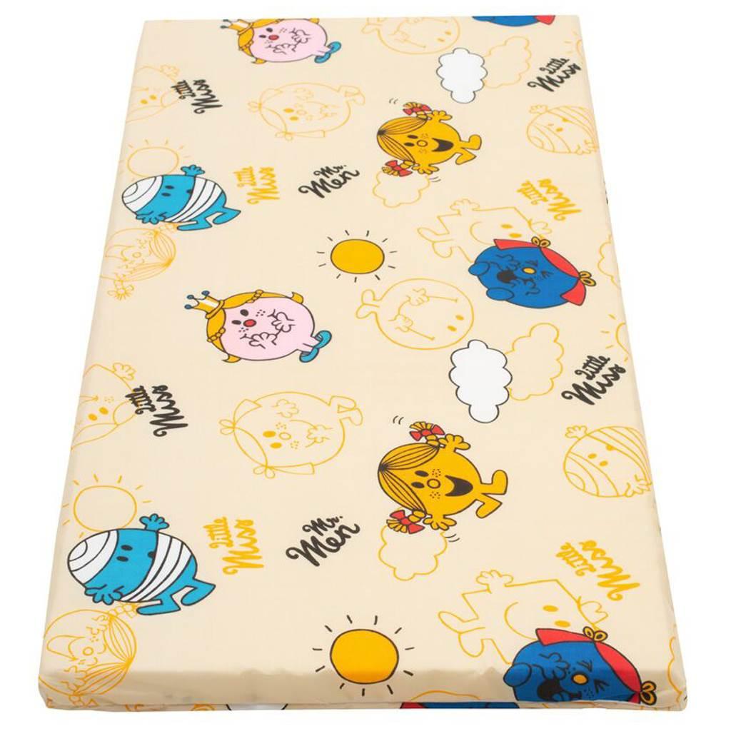 Dětská pěnová matrace New Baby 120x60 - různé obrázky - oranžová