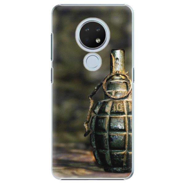 Plastové pouzdro iSaprio - Grenade - Nokia 6.2