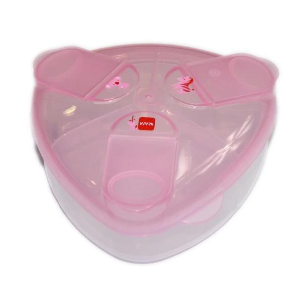 MAM Zásobník na sušené mléko - růžový