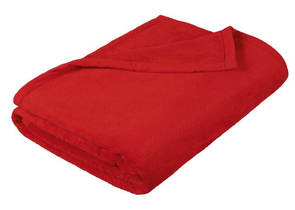 Dětská micro deka 100x150cm červená