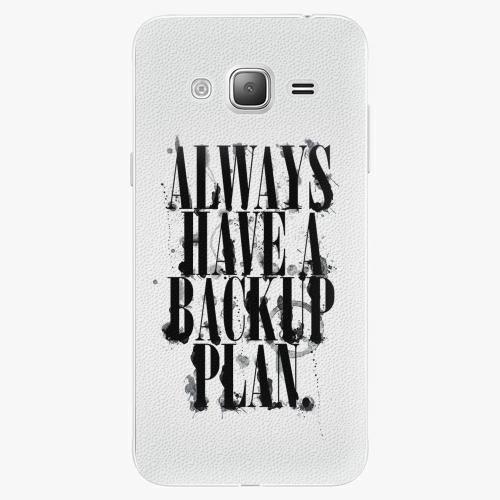 Plastový kryt iSaprio - Backup Plan - Samsung Galaxy J3 2016