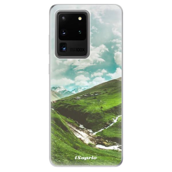 Odolné silikonové pouzdro iSaprio - Green Valley - Samsung Galaxy S20 Ultra