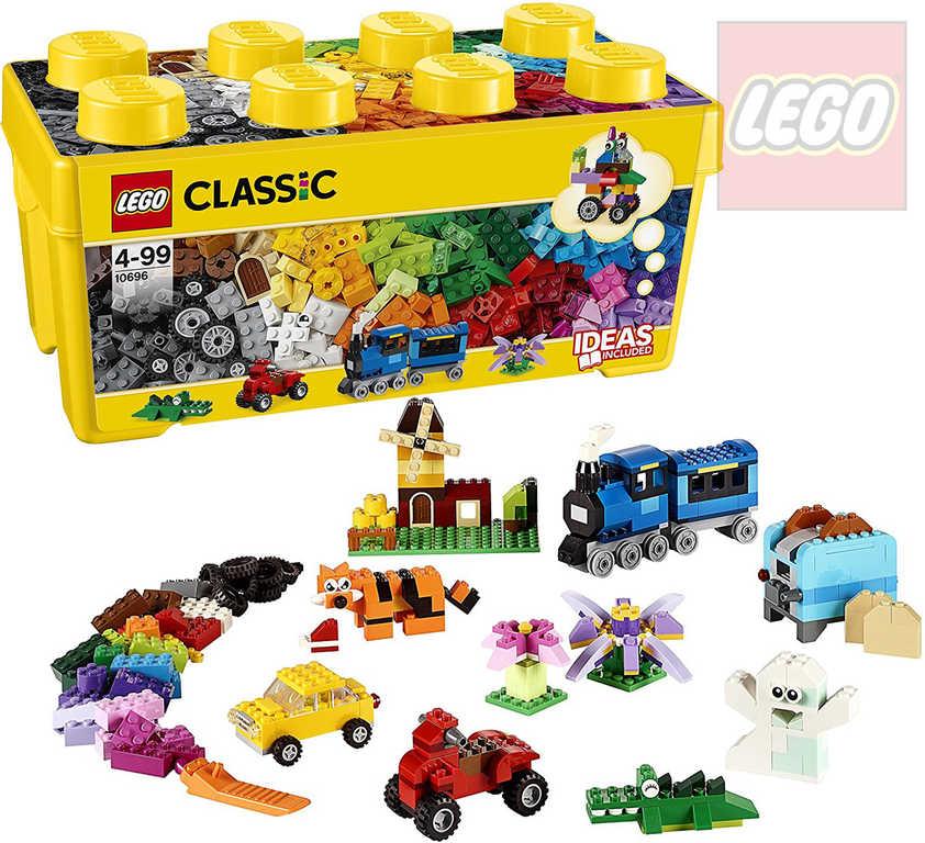 LEGO CLASSIC Kreativní box střední 10696 STAVEBNICE