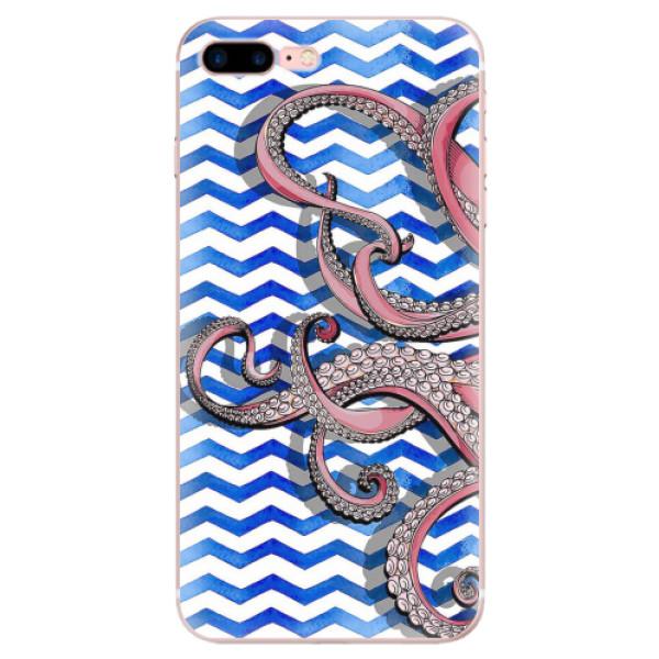 Odolné silikonové pouzdro iSaprio - Octopus - iPhone 7 Plus