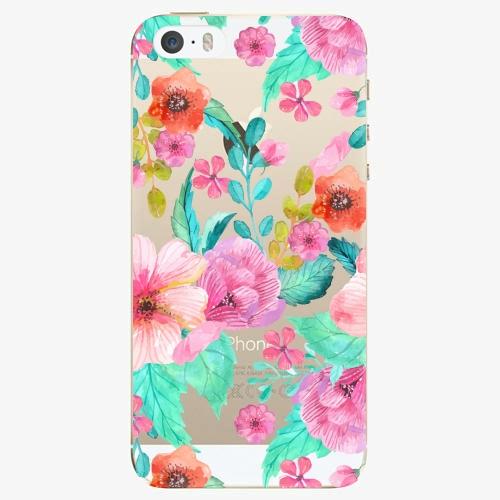 Plastový kryt iSaprio - Flower Pattern 01 - iPhone 5/5S/SE