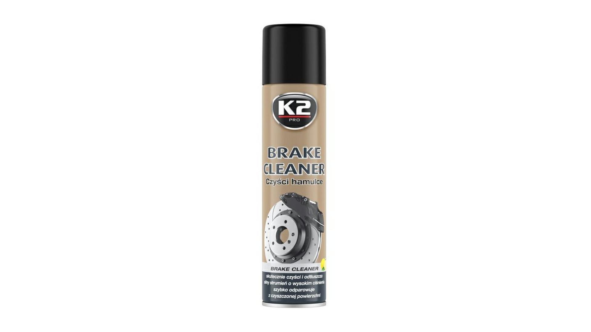 K2 BRAKE CLEANER 600ml - čistič brzd (redukuje pískání)