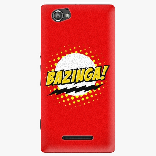 Plastový kryt iSaprio - Bazinga 01 - Sony Xperia M