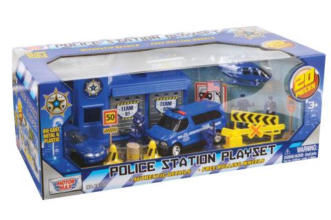 Herní set Policejní stanice