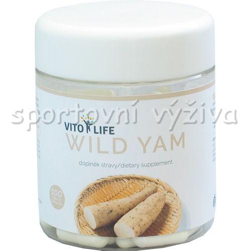 Wild Yam 100 kapslí