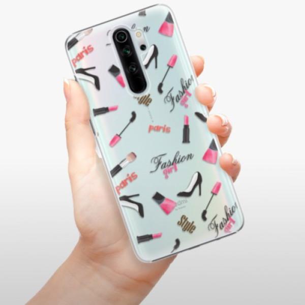 Plastové pouzdro iSaprio - Fashion pattern 01 - Xiaomi Redmi Note 8 Pro