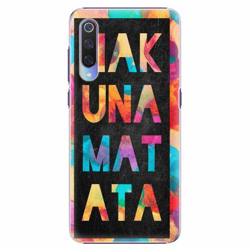 Plastový kryt iSaprio - Hakuna Matata 01 - Xiaomi Mi 9