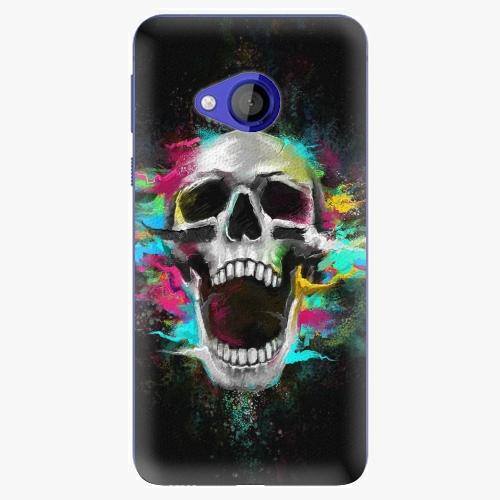 Plastový kryt iSaprio - Skull in Colors - HTC U Play