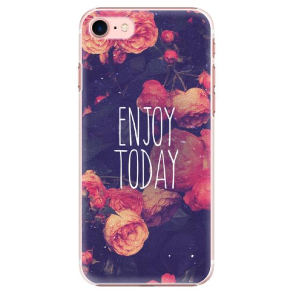 Plastové pouzdro iSaprio - Enjoy Today - iPhone 7