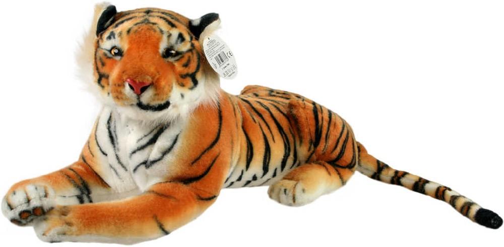 PLYŠ Tygr hnědý velký 85cm PLYŠOVÉ HRAČKY