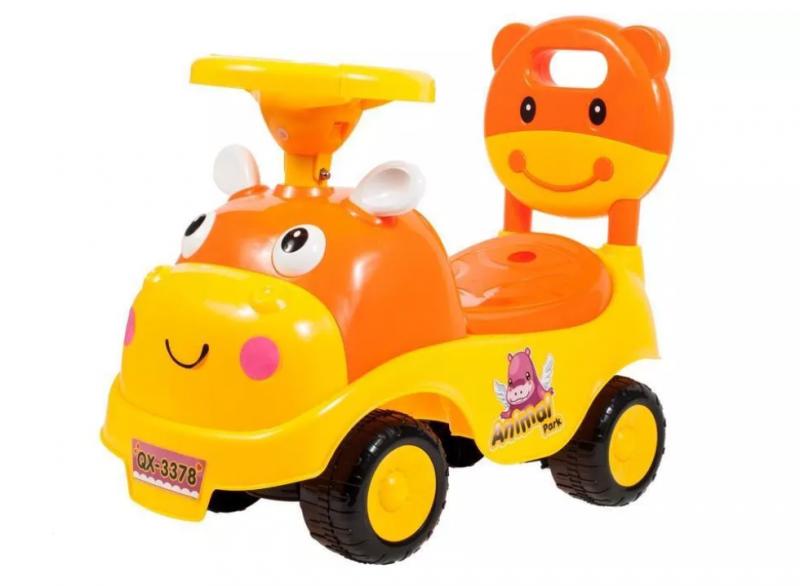 tulimi-detske-odstrkovadlo-odrazedlo-jezditko-kravicka-oranzove