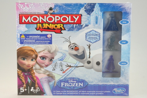 Monopoly junior Frozen CZ/SK