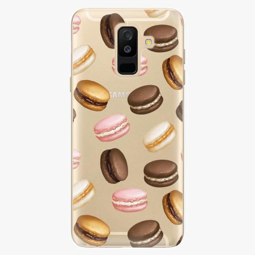 Plastový kryt iSaprio - Macaron Pattern - Samsung Galaxy A6 Plus