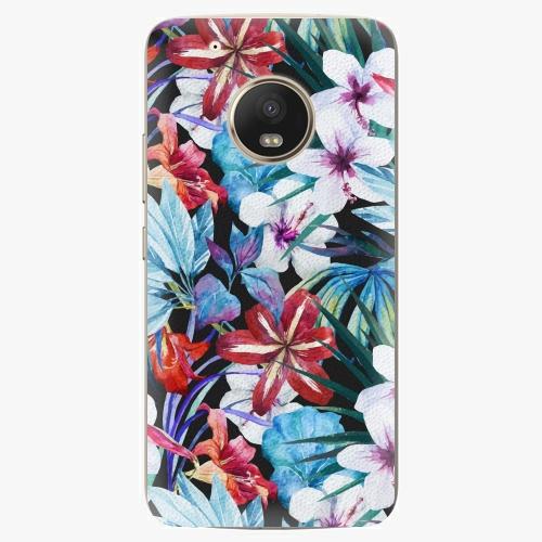 Plastový kryt iSaprio - Tropical Flowers 05 - Lenovo Moto G5 Plus
