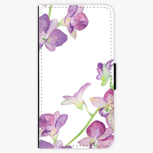 Flipové pouzdro iSaprio - Purple Orchid - Samsung Galaxy A5 2017
