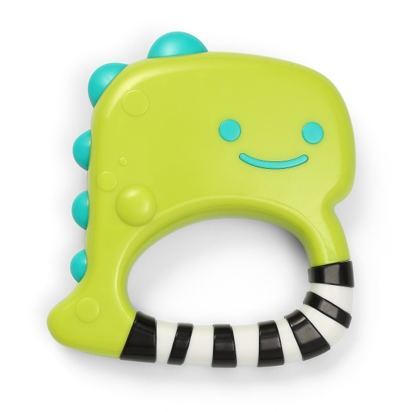 BabyOno Dětské chrastítko Dino Park - zelené