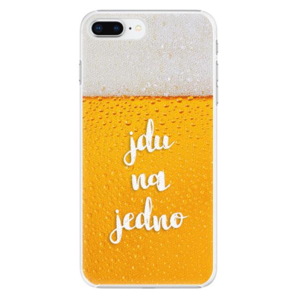 Plastové pouzdro iSaprio - Jdu na jedno - iPhone 8 Plus