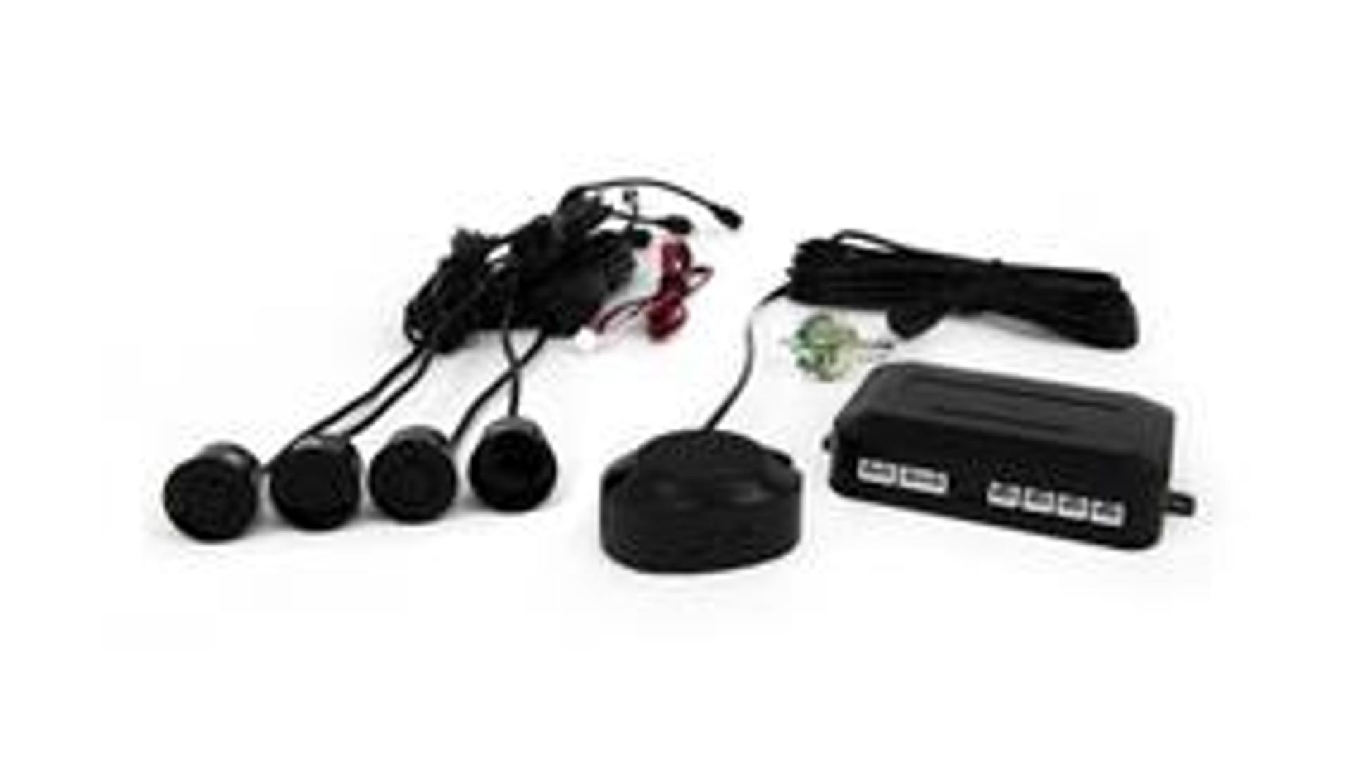 Parkovací asistent se zvukovým signalizátorem vzdálenosti, 4 senzory