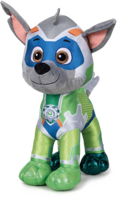 PLYŠ Rocky 37cm Tlapková patrola Super Mighty Pups *PLYŠOVÉ HRAČKY*